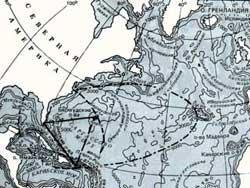 """Тайна """"Бермудского треугольника"""" связана с выбросами метана"""