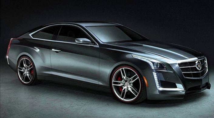 Фото новой модели авто Cadillac CTS 2014 года