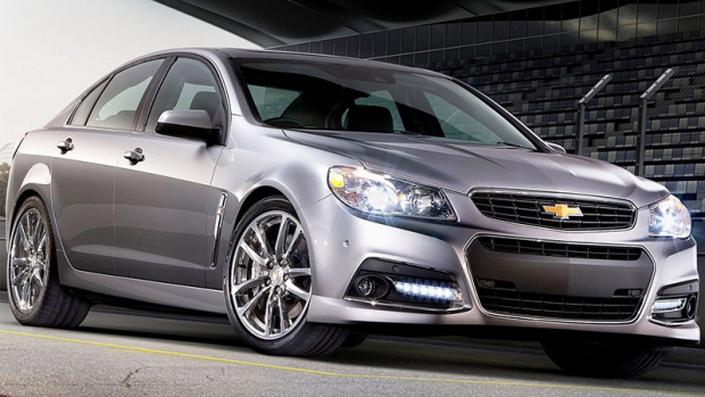 Фото новой модели авто Chevrolet SS 2014 года