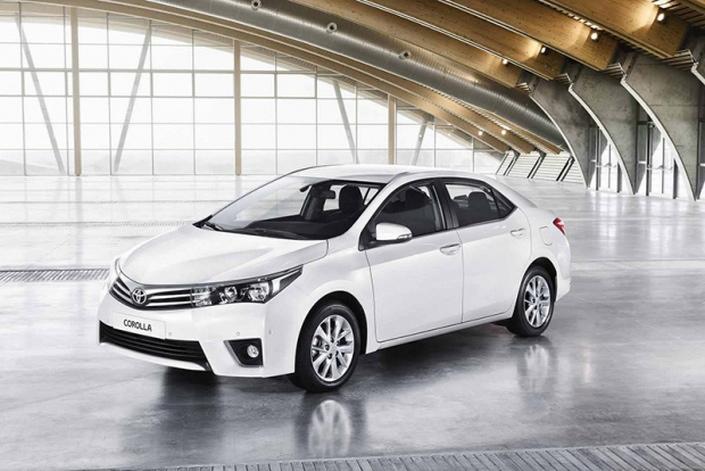 Фото новой модели авто Toyota Corolla 2014 года