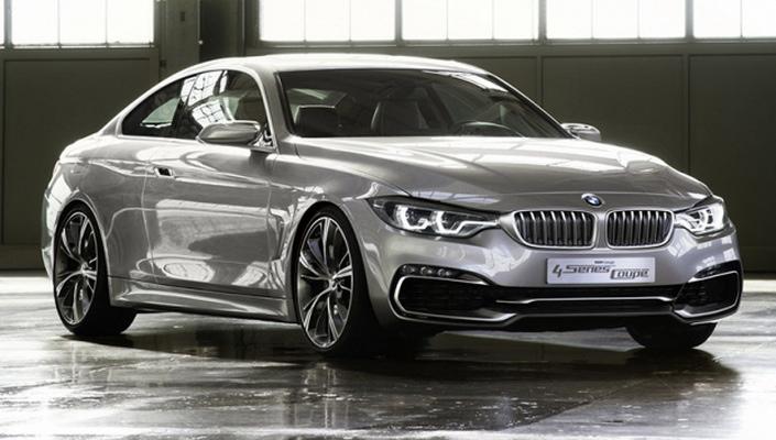 Фото новой модели авто BMW 4 Series 2014 года
