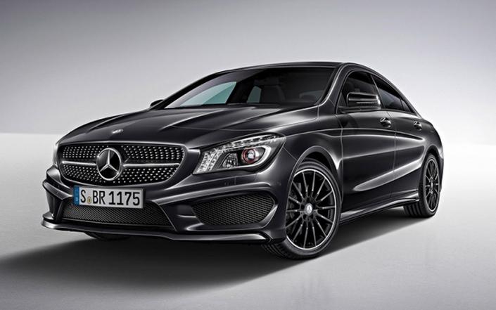 Фото новой модели авто Mercedes-Benz CLA-Class 2014 года
