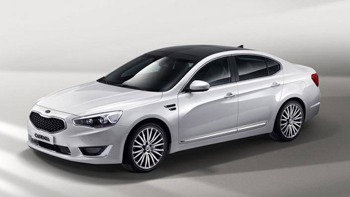 Фото новой модели авто Kia Cadenza 2014 года