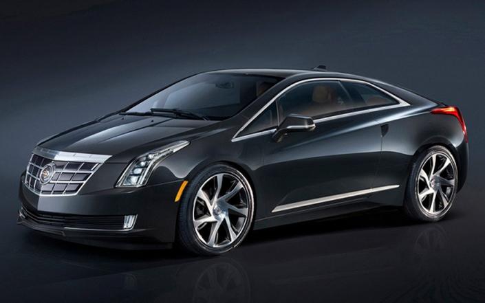 Фото новой модели авто Cadillac ELR 2014 года
