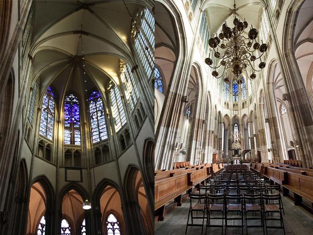 Внутри собор практически пуст – ни икон, ни фресок