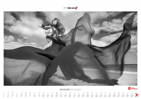 Erotic Calendar 2015 by Inter Cars