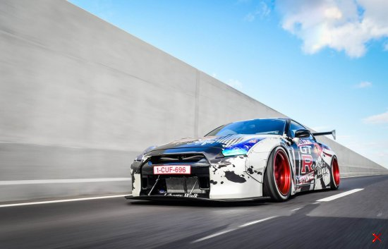 Nissan GT-R Liberty walk LB Performance by Belgium GTR