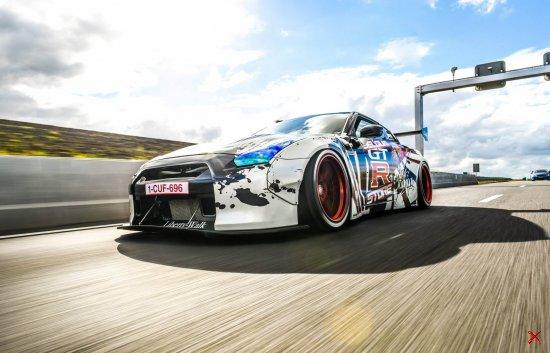 Nissan GT-R Liberty walk LB Performance by Belgium GTR