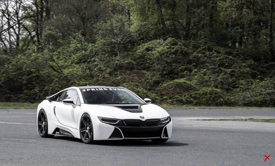 BMW i8 MANHART Performance
