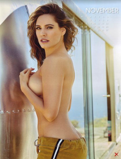 Kelly Brook Official Calendar 2016