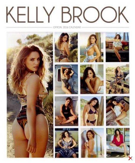 Kelly Brook Official Calendar 2016