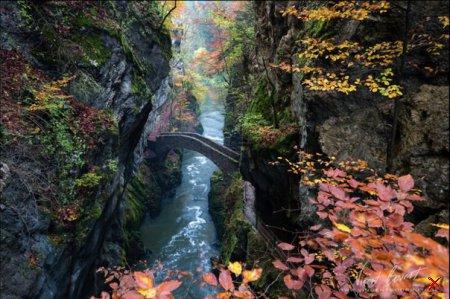 Ущелье Аройзе, Швейцария