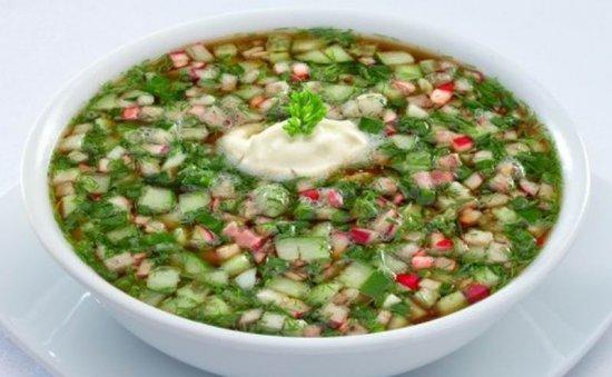 Холодные супы.. 5 рецептов