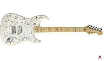 Электрогитара Fender Stratocaster за $2,8 млн