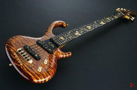 Бас-гитара Флора Аурум за $250 000