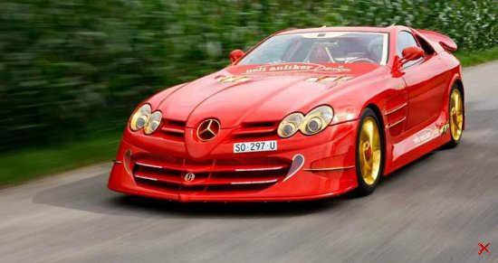 Mercedes-Benz SLR McLaren Red Gold Dream — 11 млн долларов