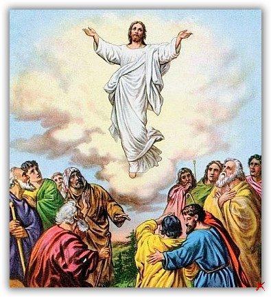 Вознесение Господне у западных и православных христиан