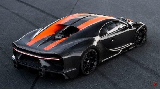 Bugatti Chiron Super Sport 1600PS разогнали до 490,48 км/ч