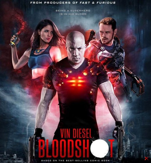БЛАДШОТ - BLOODSHOT - 2020 Official Trailer (HD)