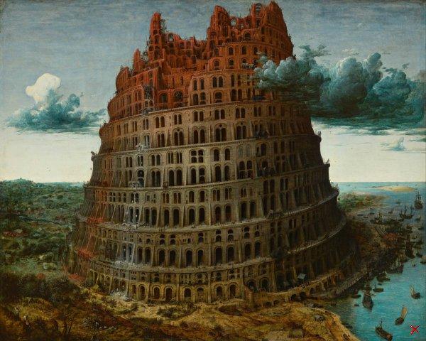 Питер Брейгель - Вавилонская башня