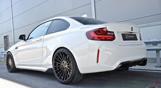 BMW M2 F87 Coupe by DS - 420PS & Hamann rims